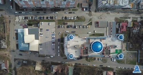 """Паркоместа открытого паркинга ЖК """"Дом с ротондами"""""""