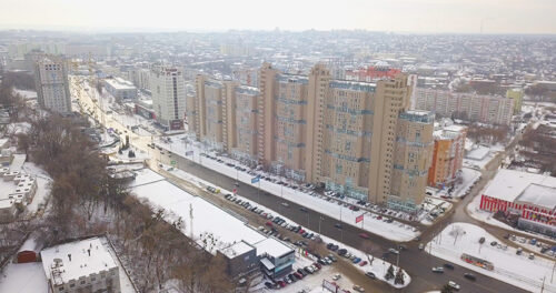 """В седьмой секции ЖК """"Павловский квартал"""" ведется монтаж вертикальных конструкций десятого этажа"""